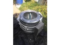 Job lot of fire pit drums 20 all together