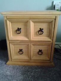 2 Drawer CD Cabinet