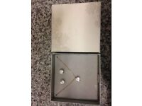 Beautiful Jewellery Set in Box - Necklace and Earrings