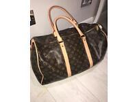 Weekender weekends bag leather designer hand luggage gym sport bag