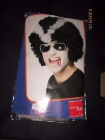 VAMPIRE / DRACULA AFRO FANCY DRESS WIG GREAT FOR A HALLOWEEN PARTY