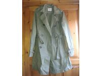 Green Trench Coat by GAS