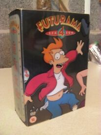Futurama Box Set Season 4