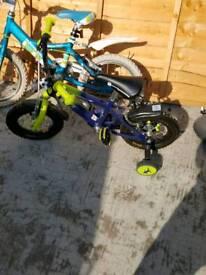 Boys kids bike