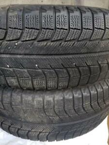 2 winter tires Michelin 215/65r16