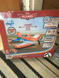 Disney inflatable dusty remote control plane