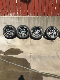 Mercedes AMG alloys and tyres