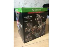 Xbox One,The Witcher 3 Wild Hunt Collectors Edition Rare retro Special Collectable Edition