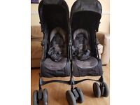Double buggy/pushchair Mamas&Papas