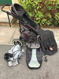 Phil and Teds explorer double pram