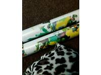 Ninja turtle wallpaper was £15 roll wot £10 a roll or all 6 rolls for 50