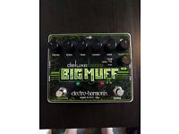 EHX Bass Big Muff Deluxe Guitar Effects Pedal For Sale