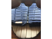 horse riding back protector size small womans