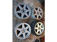 "17"" genuine Vectra B GSi alloys 5x110 Vauxhall Zafira Astra Meriva Corsa not VXR"