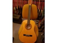 Herald acoustic guitar 3/4 size