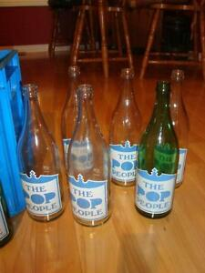 "Full Case Soda Bottles ""The Pop People"" from Oshawa ON - RARE !! Kitchener / Waterloo Kitchener Area image 2"