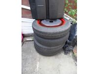 Ford Focus space saver spare wheel several available