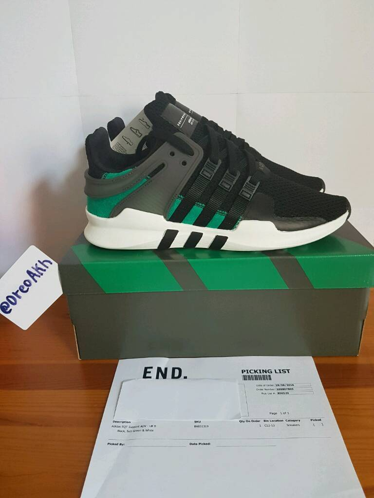 adidas EQT Support 93/17 'White/Turbo' DetailedNY Tictail