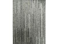 Striped Grey Carpet Tiles 50cm x 50cm 15m2