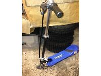 ### new kids electric scooter,blue ##