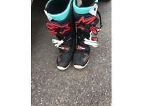 Alpine star motor cross boots