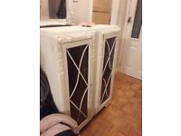Vintage shabby chic style large cabient