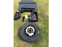 Skoda Yeti 4wd spare wheel kit
