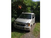 Suzuki wagon, 1171cc silver, excellent condition