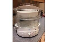 Family size food steamer