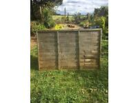 4 ft x 6ft fence panel