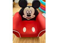 Mickey Mouse toddler armchair
