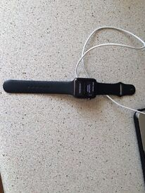 Like new apple I watch 42 mm with box and charger