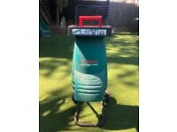 Bosch AXT Rapid 2000 shredder