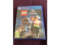 New in packing PS4 game Lego Jurassic world