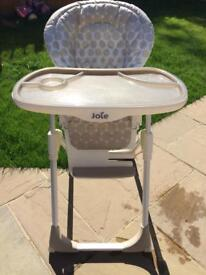 Joie baby mimzy LX high chair