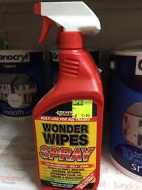 Everbuild Wonder Wipes Spray