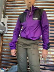 The North Face vintage windbreaker men's size small