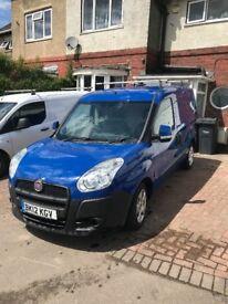 Fiat doblo 1.3L Blue. 85,600. £3600 Roof rack