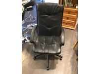 Office swivel chair with variable height