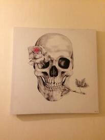Art - skull