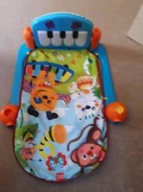Baby musical keyboard play mat
