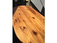 Free solid pine table