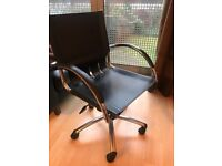 REDUCED Black Eames Style Chair