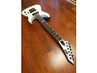 ESP Horizon NT-ii snow white electric guitar with hardcase