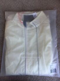 Classic women's Rapha cycling gilet in cream XS