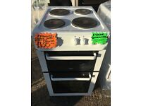 ZANUSSI 50CM SOLID TOP ELELCTRIC COOKER