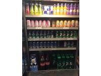Caravell drinks display fridge