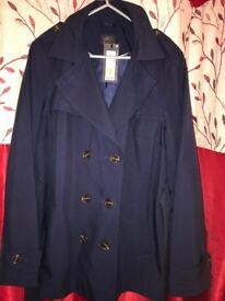 Ladies coat size 16 M&S