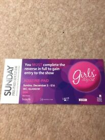 Girls day out show SECC ticket