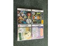 DS games, boxed
